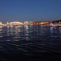 Белые ночи. Мост Петра Великого :: Наталья