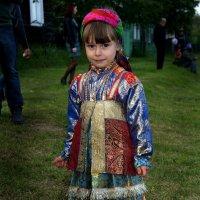 Маленькая северяночка. :: Евгений Усатов