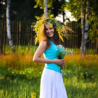 Девушка :: Анна Удальцова