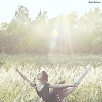 Балет (на закате солнца)... :: Сергей Гутерман