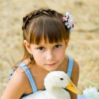 Девочка и утка :: Алла Самарская Citadel