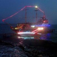 Вечерняя морская прогулка. :: Наталья