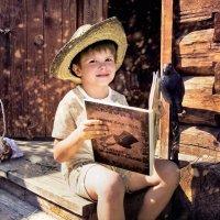 Мальчик-с-пальчик учится читать :: Нина