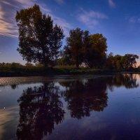Ночная протока. :: Виктор Гришенков