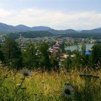 Турочакская панорама, Республика алтай :: Елена Бушуева