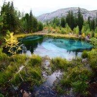 Голубое озеро :: Анатолий Piligrim54 Крюков