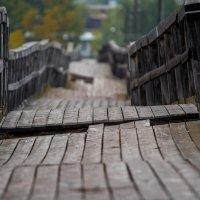 город Белорецк, самый длинный деревянный мост в России, 552 метра :: Антон Журавлев