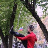 Танец стали  в руках Казака :: Колибри М