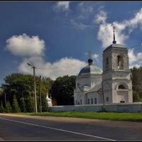 Церковь Петра и Павла в Дорогобуже :: Дмитрий Анцыферов