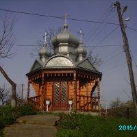 Деревянная   часовня  в  Ворохте :: Андрей  Васильевич Коляскин
