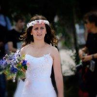 Невеста с букетом. :: Виктор Иванович