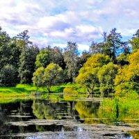 Осенний парк :: Олег Попков