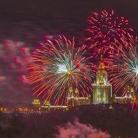 С праздником, Москва! :: Борис Гольдберг