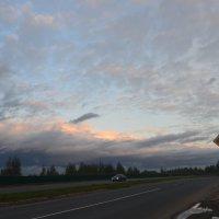 Вечернее небо :: надежда