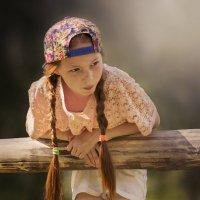 Девочка с косичками :: Гульшат