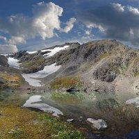 Горное озеро или откуда начинается река... :: Евгений ...