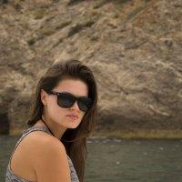 Прекрасная Александра на солнечном берегу крыма :: Александр Швецов