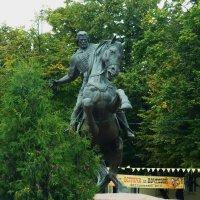 Памятник Евпатию Коловрату в Рязани. :: Galina Leskova