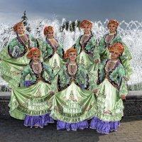 Семь красавиц у фонтана :: arkadii