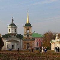Осенним днём в Кусково :: Надежда Бахолдина