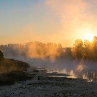 Осеннее утро на реке Оскол :: Инна Голубицкая