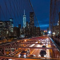 Brooklyn Bridge, NYC :: Alex Kulnevsky