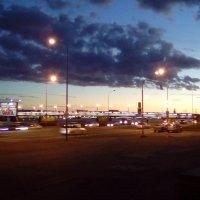 Вид на Литейный мост. Поздний вечер. (Санкт-Петербург). :: Светлана Калмыкова