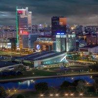 Проспект Победителей в Минске :: Sergey-Nik-Melnik Fotosfera-Minsk