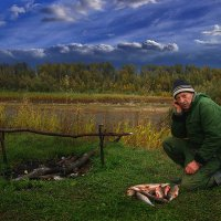 Рыбак. :: Евгений Усатов