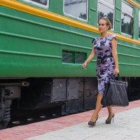 Вот мой поезд на пути :: Дима Пискунов