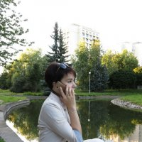 Важный разговор :: Оксана Кошелева