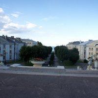 Красивый бульвар ведёт от ратуши к берегу моря :: Елена Павлова (Смолова)