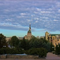 Раннее утро в г. Харькове :: Татьяна Пальчикова