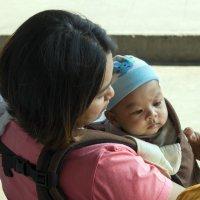 Таиланд. Чаченгсау. Мать и дитя :: Владимир Шибинский