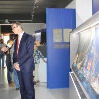 Интервью на экспозиции :: Наталья Золотых-Сибирская