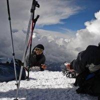 Из архива. На вершине Эльбруса. 2007год :: Татьяна Найдёнова