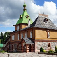 Симеоно-Аннинская церковь (1895 год), объединенная с трапезной :: Елена Павлова (Смолова)