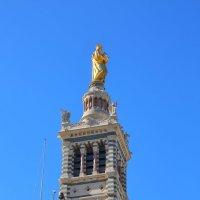 Нотр-Дам-де-ла-Гард — базилика в Марселе :: ALEX KHAZAN