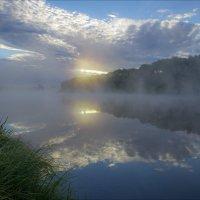 В тиши раннего утра на Клязьме. :: Igor Andreev