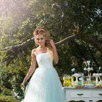 В мечтах...Невеста Алина :: Вероника Пастухова