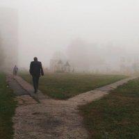 Туманное утро. :: Ирина