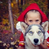 Красная шапочка и серый волк))) :: Аннета /Анна/ Шу