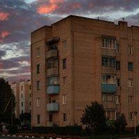 Вечерняя панорама Шумилино-01 :: Анатолий Клепешнёв