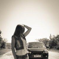 Встреча на дороге :: Ирина Холодная