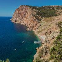 Вид на пляж Васили :: Nyusha