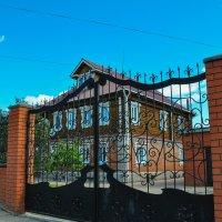 Жилой дом в Чкаловске :: Сергей Тагиров