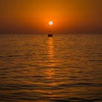 закат... простой, обычный летний чарующий закат... :: Александр Александр