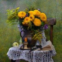 Желтоглазая осень нарядилась в наряды... :: Валентина Колова