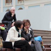 На конференции. :: Larisa Gavlovskaya