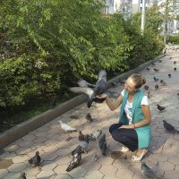 Я и голуби :: Юлия Руденко